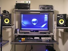 Modern Gaming Computer Desk