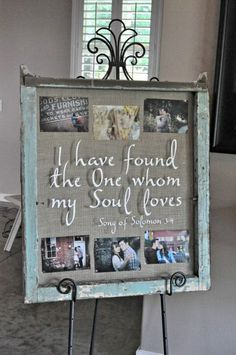 I have found the One whom my Soul loves... LOVE !