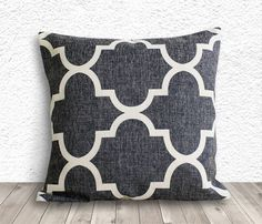 Linen Pillow Covers, Cushion Covers - Pattern - 093
