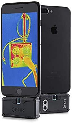 FLIR ONE Pro - iOS - Professional Grade Thermal Camera for Smartphones - with VividIR and MSX Image Enhancement Technology New Post has been published on. Electrical Problems, Thermal Imaging Camera, American Coins, Image Processing, Tech Support, Cool Gadgets, Mobile App, Ios, Smartphone