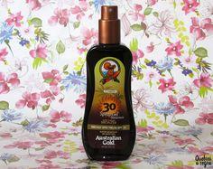 Spray Gel com Instant Bronzer FPF30 da Australian Gold
