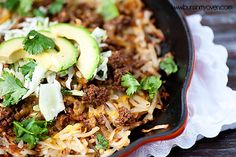 One Dish Dinner: Taco Skillet
