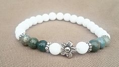 Jade achat with flowers