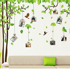 COFFLED Huge Size Art Photo Frames Wall Decal Stickers,Memory Tree,Easy to Apply and Repositionable Wall Decoration *** See this great product.