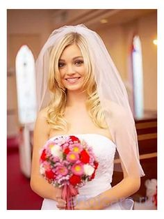 Hairstyles, Wedding Veils With Hair Down: Hairstyles with veil