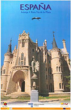Astorga, León, Ruta Vía de la Plata, España.