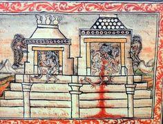 Aztec Religion, Mesoamerican, Gods And Goddesses, Worship, Vintage World Maps, Culture, Painting, Art, Art Background
