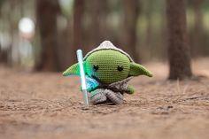 Master Yoda amigurumi