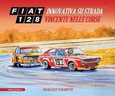 Fiat 128 coupè front page book