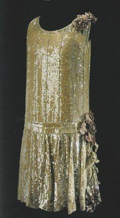 Jérôme evening dress, embroideries by Maison Lesage, 1925.