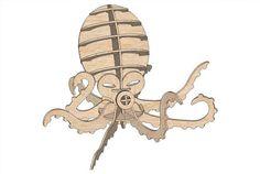 Octopus - Fish   MakeCNC.com