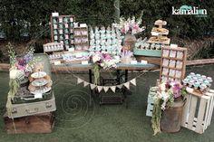 www.kamalion.com.mx - Mesa de Dulces / Candy Bar / Postres / Bautizo / Menta…