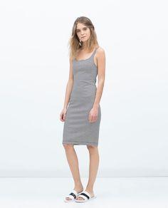 A Great BASIC SLEEVELESS DRESS from Zara...Officially CLoset