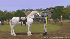 thesims3 pretty horses | Sims 3 Pets: Horses!