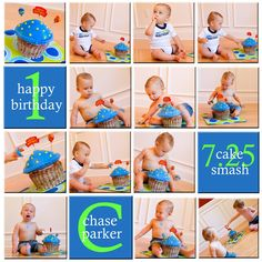 More ideas for 1st birthday pictures... :-)