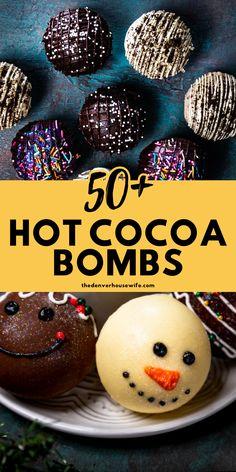 Hot Chocolate Gifts, Christmas Hot Chocolate, Chocolate Spoons, Homemade Hot Chocolate, Hot Chocolate Bars, Hot Chocolate Mix, Hot Chocolate Recipes, Chocolate Treats, Homemade Chocolates
