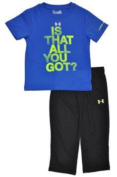 BNWT Boys Size Newborn Blue//Grey Stretch Short Romper Suit /& Matching Shorts Set