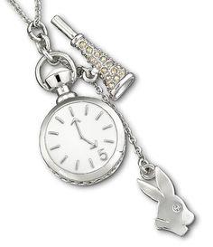 Swarovski - Tea Party White Rabbit Pendant