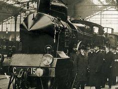 1907 : la Pacific, #locomotive à vapeur, entre dans la légende et la mémoire collective.