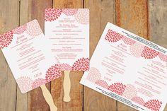 Items similar to Wedding Fans - Program Template Diy Wedding Fans, Diy Wedding Program Fans, Wedding Limo, Our Wedding, Wedding Things, Wedding Ideas, Wedding 2015, Dream Wedding, Limo Party