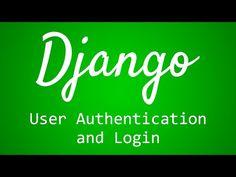 Django Tutorial for Beginners - 36 - User Authentication and Login - (More Info on: http://LIFEWAYSVILLAGE.COM/videos/django-tutorial-for-beginners-36-user-authentication-and-login/)