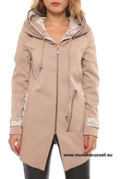 Damen Trench Coat Irmela Beige