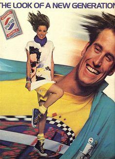 1986 Pepsi apparel ad