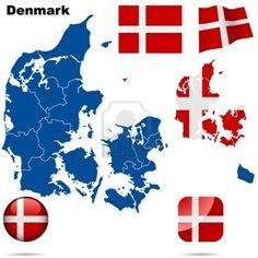 The shape of Denmark.....