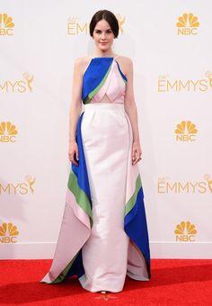 Michelle Dockery in Rosie Assoulin (Emmys 2014)