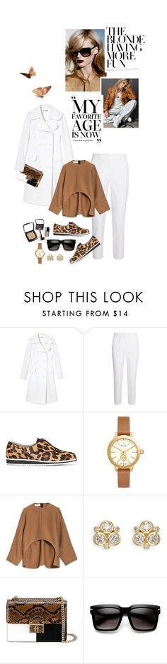 """""""Birthday Girl @blonde-bedu!!!"""" by shortyluv718 ❤ liked on Polyvore featuring Anja, Michael Kors, Karen Millen, Tory Burch, Marni, Temple St. Clair, Dolce&Gabbana, Chanel and ZeroUV"""