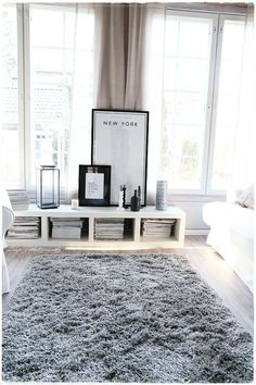 white for room livings pillows with antique family living shaggy rug bertoia shag decor midcentury chair button and romantic rugs black