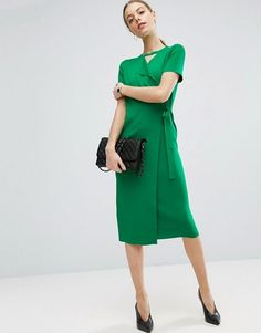 Cool 32 Perfect Spring Green Dress Ideas