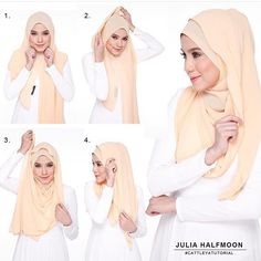 This is a cute and girly wrap with a flowing touch all over the head, using a maxi chiffon hijab. You can create it in no time and match it with a maxi dress, the stylish look of the hijab…