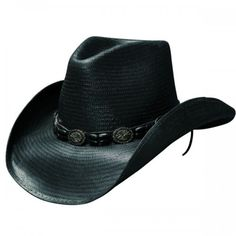 bf45e2b43d18e Black Hills - Shapeable Straw Cowboy Hat Mens Cowboy Hats