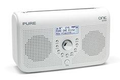 Pure One Elite digital radio Pure One, Dab Radio, Digital Radio, Radio Alarm Clock, Stereo Speakers, Save Energy, Pure Products, Home Stereo Speakers