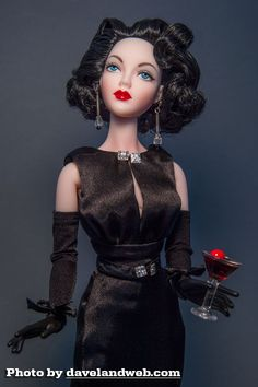 JS Gene Marshall ~ in Madame Alexander 'Betrayal ~ Image and styling by Dave ~ The Studio Commissary