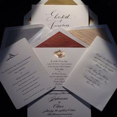 Connor #wedding #invitations #custom #luxury #bespoke #NYC #BeverlyHills #stationery #engraved