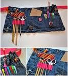 An endless supply of recycled jeans crafts - Bing Images - few instructions but the ideas are great