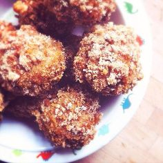 Crunchy Pork & Coriander Meatballs recipe.* Quick and easy recipe for crunchy Pork and Coriander Meatballs – great as a snack or with pasta.