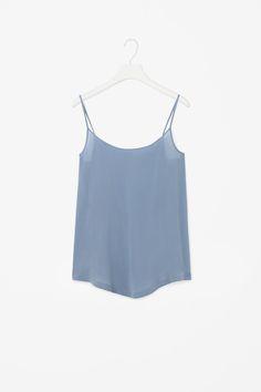 Silk vest top