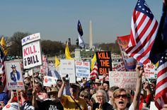 Tea party activists rally in Washington D.C.