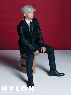 Sechs Kies Lee Jae Jin - Nylon Magazine Leather Trousers, Leather Jacket, Nylons, Jin, Kpop Profiles, Magazine Man, Yg Entertainment, Kpop Groups, Super Junior
