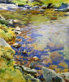 John Singer Sargent's The Brook