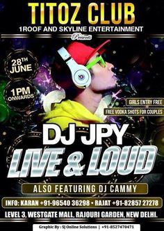 #djjpy #live&loud