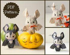 Baby bats (PDF Pattern)