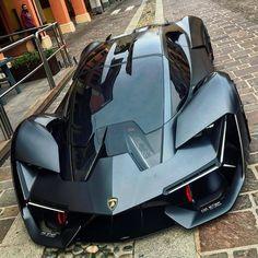 carlifestyle :: All electric Lamborghini Terzo Millennio! Photo by @mitjaborkert