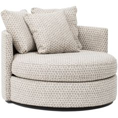 Betty Swivel Chair, Stones Pewter   Fabric   Chairs   Furniture