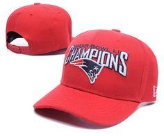 New England Patriots 2017 Super Bowl LI Champions Adjustable Hat Red LH New  Era Snapback 255a9d4b1