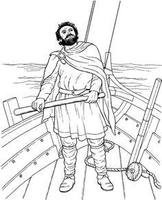 Billedresultat for viking coloring