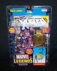 Marvel Legends Mojo Series Psylocke X-Men Action Figure & Comic Toy Biz